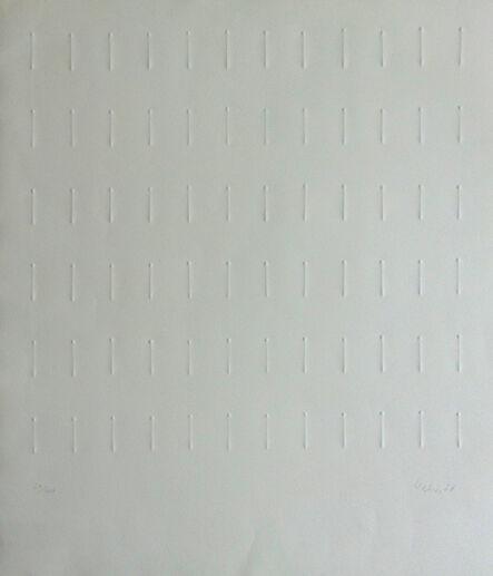Günther Uecker, 'Untitled [Ranking] | Ohne Titel [Reihung]', 1968