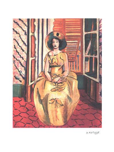 Henri Matisse, 'Yellow Dress', (Date unknown)