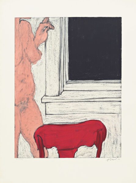 George Segal, 'Six Serigraphs (Two)', 1970