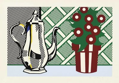 Roy Lichtenstein, 'Still Life with Pitcher and Flowers, from: Six Still Lifes', 1974