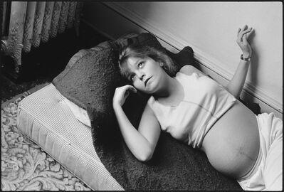 Mary Ellen Mark, 'Tiny pregnant with Daylon', 1985