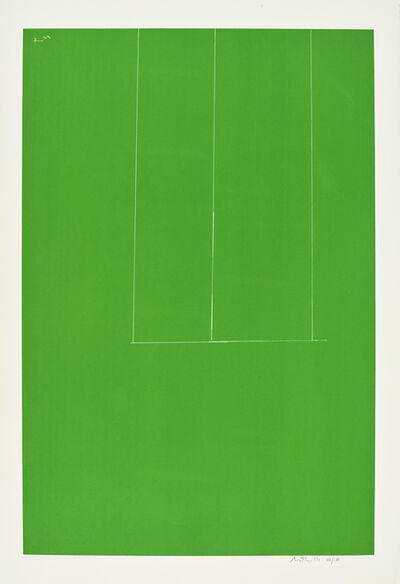 Robert Motherwell, 'Untitled (Green), from London Series I (Engberg & Banach 92)', 1971