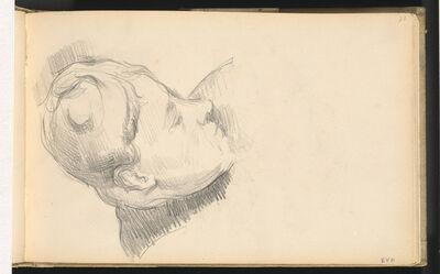Paul Cézanne, 'Madame Cézanne with her Head Lowered', 1893/1896