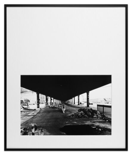 Peter Downsbrough, 'Untitled, New York City', 1978