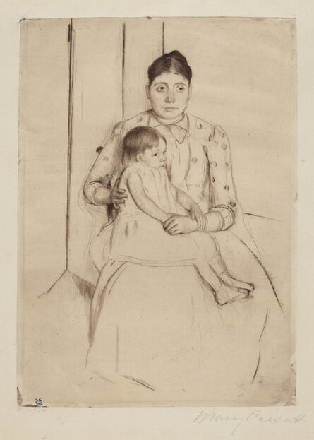 Mary Cassatt, 'Repose', ca. 1890