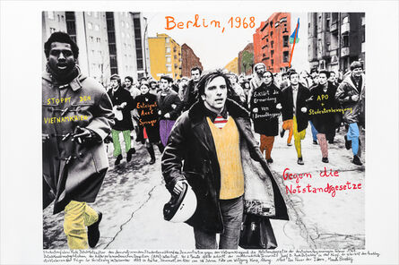Marcelo Brodsky, 'From the series 1968: The fire of Ideas, Berlín, 1968', 2014-2019