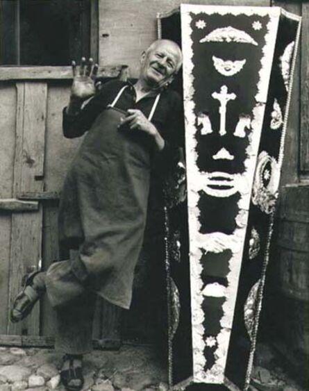 Neil Folberg, 'Coffinmaker, Macedonia', 1971