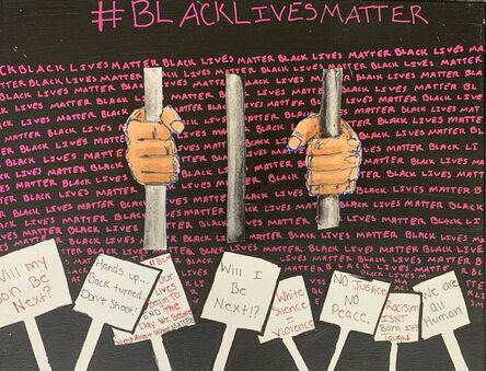 """A""M., 'Black Lives Matter', 2019"