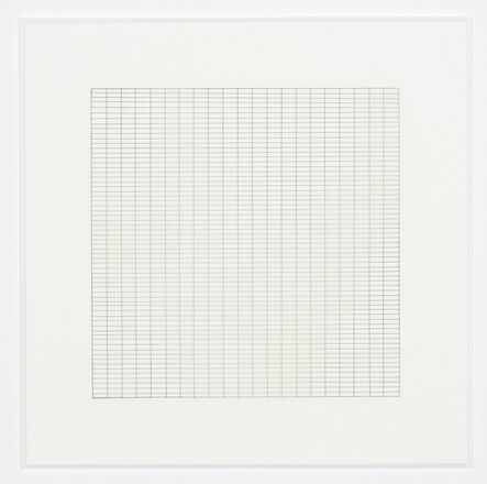 Agnes Martin, 'Untitled (10)', 1991