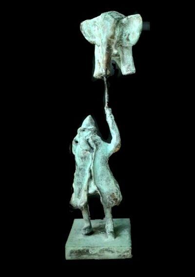 Aziz Anzabi, 'Human in Auction IV', 2020