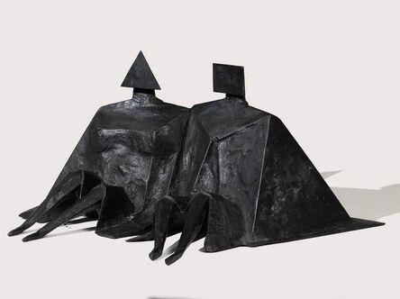 Lynn Chadwick, 'Sitting Couple II', 1980