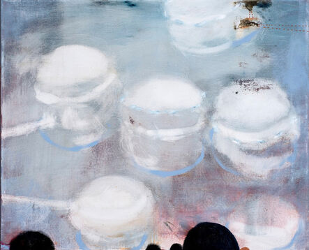 Virginia Verran, 'Grey:Blue (Obs)', 2019
