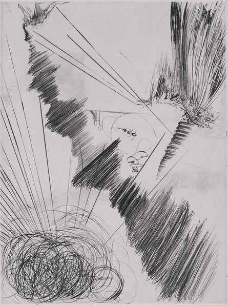 Salvador Dalí, 'Faust : Femme au Clown, 1969 - Original etching', 1969