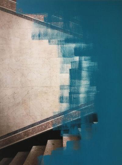 Inês d'Orey, 'Bleu canard #3', 2018