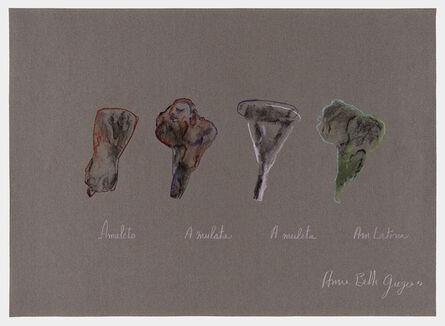 Anna Bella Geiger, 'Amuleto', 1977