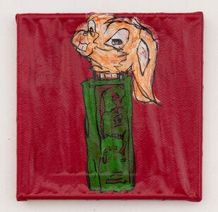 Lance Rautzhan, 'Untitled (Hare Candy Dispenser)', 2021