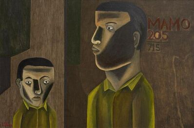 Salah Elmur, 'Innocent Prisoner No.205', 2020