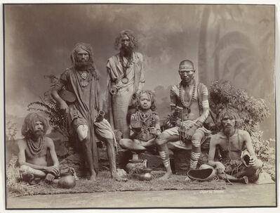 'Group of Yogis', 1880