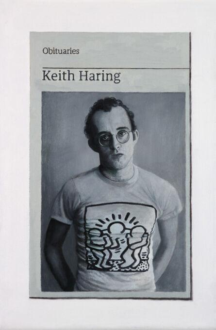 Hugh Mendes, 'Obituary: Keith Haring', 2018