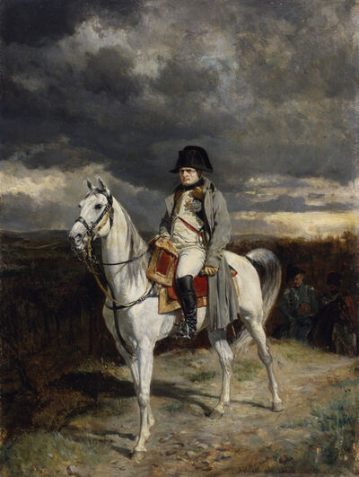 Jean-Louis-Ernest Meissonier, '1814', 1862