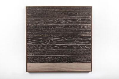 Analía Saban, 'Wooden Floor on Wood (Horizontal)', 2017