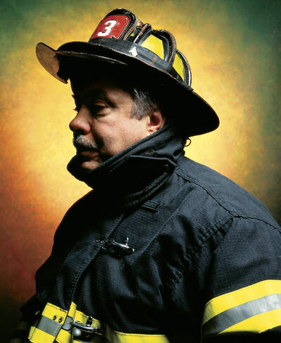 Andres Serrano, 'Firefighter John L. Thomasian (America) //MRBAB', 2002