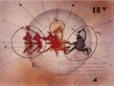 Margarita Paksa, 'Lo decía Kafka. Serie Dibujos Rorschach', 1983