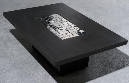 Pol Bury, '72 carrés mirroir (table)', 1990
