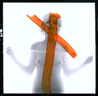 "Bert Stern, 'MarilynMonroe: From ""The Last Sitting""(Crucifix II)', 1962"
