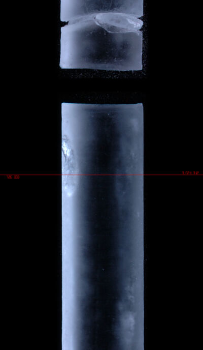 Shiro Takatani, 'Ice Core', 2005