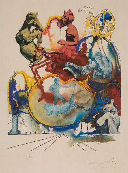 Salvador Dalí, 'Four Dreams of Paradise: Heroic', 1973