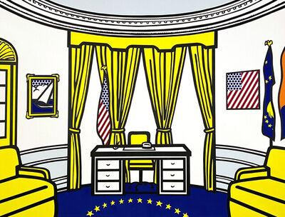 Roy Lichtenstein, 'The Oval Office', 1992