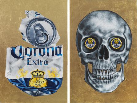 Tom Sanford, 'Corona Virus Skull', 2020