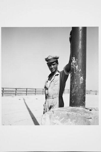 Karlheinz Weinberger, 'Gas Station attendant, Italie', 1958
