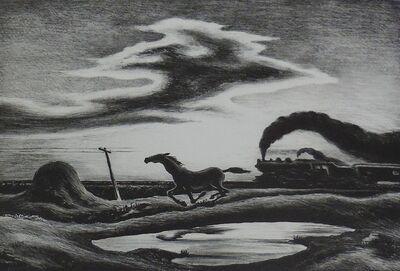 "Thomas Hart Benton, '""The Race"" (Homeward Bound)', 1942"