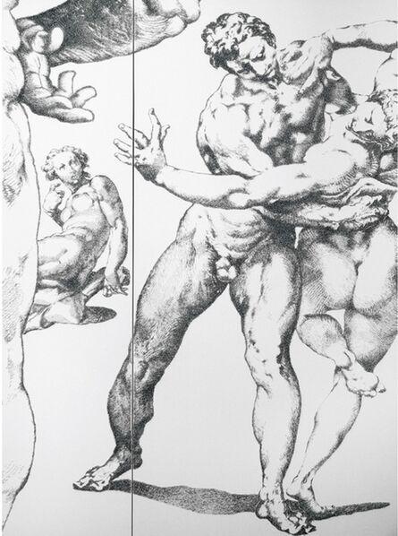 Baptiste Debombourg, 'Aggravure XXV', 2012