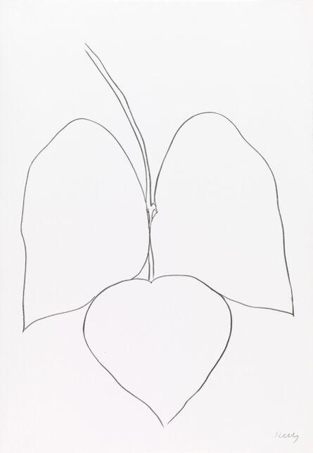 Ellsworth Kelly, 'String Bean Leaves I', 1965-1966