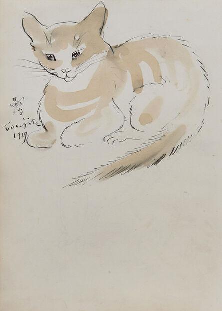 Léonard Tsugouharu Foujita 藤田 嗣治, 'Chat', 1929