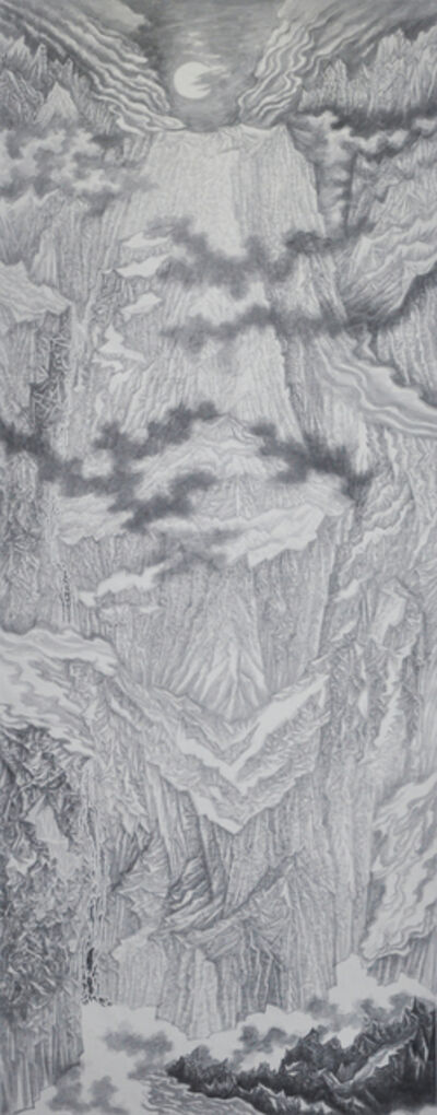 Yu Hanyu, 'Glory Mountain Series 4', 2016