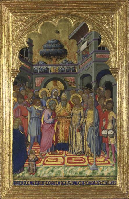 Niccolò di Buonaccorso, 'The Marriage of the Virgin', about 1380