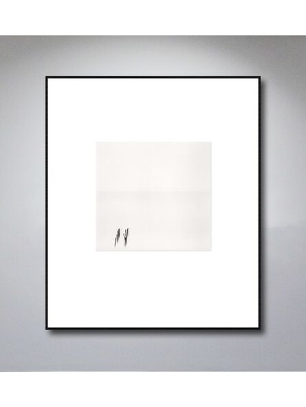 Michael Kenna, 'Matin Blanc, Blue Beach, Nice, France, 1997', 1997