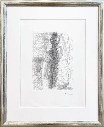 Pablo Picasso, 'Sitzender Akt mit angewinkeltem Bein (Femme nue à la jambe pliée)', 1931