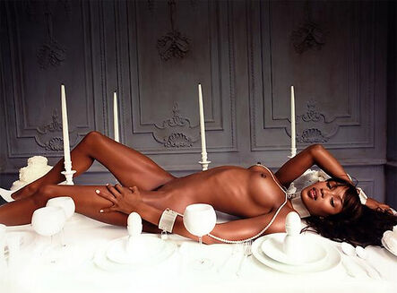 David LaChapelle, 'Naomi Campbell: Bon Appetit', 1999