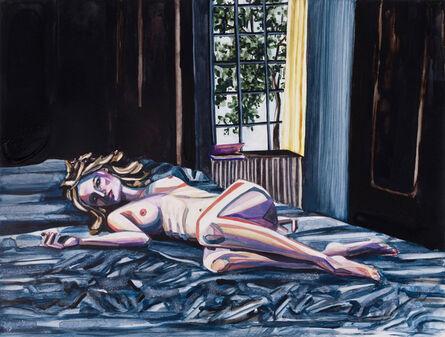 Annika Connor, 'Violet Nude', 2012