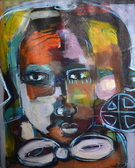 Casimir Bationo, 'Femme Independante 2 (Independent Woman 2)', 2018