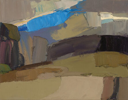 Rick Fox, 'Late Afternoon Blue', 2019