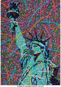 Greg Constantine, 'Saint Liberty', 1986