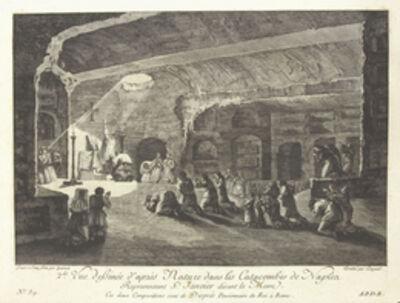 Jean Claude Richard de Saint-Non (author), '[Vue des catacombes de Naples]', 1781