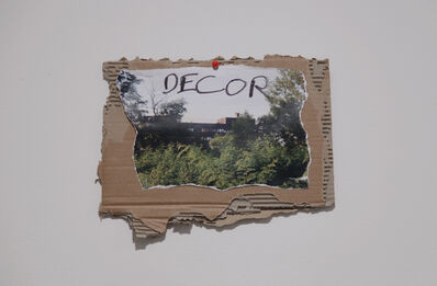 Thierry Geoffroy /COLONEL, 'Decor', 2017