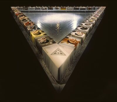 Judy Chicago, 'The Dinner Party', 1979